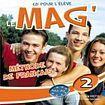 Hachette LE MAG 2 AUDIO CD ELEVE cena od 384 Kč