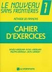 CLE International Le nouveau sans frontieres 1 cahier d´exercices cena od 148 Kč