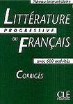 CLE International Littérature Progressive du Francais - Corrigés (Niveau intermédiaire) cena od 214 Kč