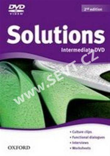 Oxford University Press Maturita Solutions (2nd Edition) Intermediate DVD cena od 500 Kč
