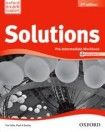 Oxford University Press Maturita Solutions (2nd Edition) Pre-Intermediate Workbook with Workbook CD ( International English Edition) cena od 220 Kč
