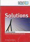 Oxford University Press Maturita Solutions PRE-INTERMEDIATE iTOOLS CD-ROM cena od 691 Kč