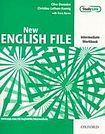 Oxford University Press New English File Intermediate Workbook without key cena od 224 Kč