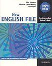 Oxford University Press NEW ENGLISH FILE PRE-INTERMEDIATE STUDENT´S BOOK ( International English Edition) cena od 434 Kč