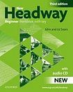 Soars John and Liz: New Headway Third Edition Beginner Workbook with Key and Audio CD - Soars John and Liz cena od 199 Kč