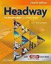Soars John and Liz: New Headway Fourth Edition Pre-intermediate Student´s Book with iTutor DVD-ROM cena od 404 Kč