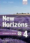 Oxford University Press New Horizons 4 Student´s Book with MultiROM cena od 303 Kč