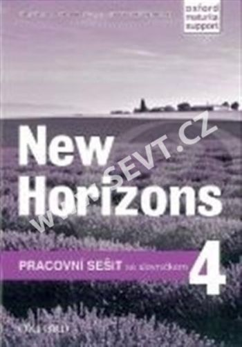 Oxford University Press New Horizons 4 Workbook CZ cena od 187 Kč
