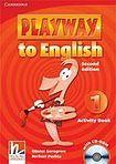 Cambridge University Press Playway to English 1 (2nd Edition) Activity Book with CD-ROM cena od 173 Kč