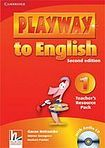 Cambridge University Press Playway to English 1 (2nd Edition) Teacher´s Resource Pack with Audio CD cena od 628 Kč