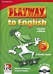 Cambridge University Press Playway to English 3 (2nd Edition) Activity Book with CD-ROM cena od 193 Kč