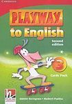 Cambridge University Press Playway to English 3 (2nd Edition) Flashcards Pack cena od 628 Kč