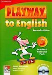 Cambridge University Press Playway to English 3 (2nd Edition) Teacher´s Resource Pack with Audio CD cena od 628 Kč