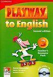 Cambridge University Press Playway to English 3 (2nd Edition) Teacher´s Resource Pack with Audio CD cena od 628 Kč