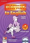 Cambridge University Press Playway to English 4 (2nd Edition) Activity Book with CD-ROM cena od 193 Kč