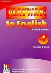 Cambridge University Press Playway to English 4 (2nd Edition) Teacher´s Book cena od 596 Kč