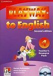 Cambridge University Press Playway to English 4 (2nd Edition) Teacher´s Resource Pack with Audio CD cena od 628 Kč