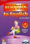Cambridge University Press Playway to English 4 (2nd Edition) Teacher´s Resource Pack with Audio CD cena od 628 Kč