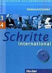 Hueber Verlag Schritte international 3 + 4 3 + 4 Intensivtrainer mit Audio-CD cena od 180 Kč
