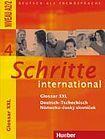 Hueber Verlag Schritte international 4 Glossar XXL Deutsch-Tschechisch cena od 172 Kč