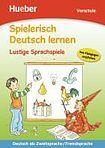 Hueber Verlag Spielerisch Deutsch lernen Lustige Sprachspiele cena od 168 Kč