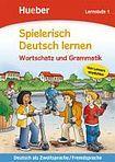 Hueber Verlag Spielerisch Deutsch lernen Wortschatz und Grammatik - Lernstufe 1 cena od 200 Kč