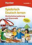 Hueber Verlag Spielerisch Deutsch lernen Wortschatz und Grammatik - Lernstufe 2 cena od 200 Kč