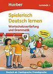 Hueber Verlag Spielerisch Deutsch lernen Wortschatz und Grammatik - Lernstufe 3 cena od 200 Kč