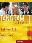 Hueber Verlag Tangram aktuell 1. Lektion 5-8 Kursbuch + Arbeitsbuch mit Audio-CD zum Arbeitsbuch cena od 361 Kč