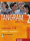 Hueber Verlag Tangram aktuell 2. Lektion 1-4 Kursbuch + Arbeitsbuch mit Audio-CD zum Arbeitsbuch cena od 279 Kč