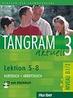 Hueber Verlag Tangram aktuell 3. Lektion 5–8 Kursbuch + Arbeitsbuch mit Audio-CD zum Arbeitsbuch cena od 361 Kč