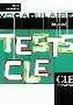 CLE International TESTS CLE DE VOCABULAIRE: NIVEAU INTERMEDIAIRE cena od 185 Kč