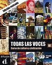 Kolektiv autorů: Todas las voces B1 – Libro del alumno cena od 421 Kč