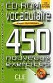 CLE International VOCABULAIRE 450 NOUVEAUX EXERCICES: NIVEAU DEBUTANT cena od 272 Kč
