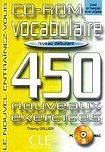 CLE International VOCABULAIRE 450 NOUVEAUX EXERCICES: NIVEAU DEBUTANT CD-ROM cena od 360 Kč