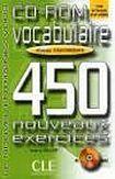 CLE International VOCABULAIRE 450 NOUVEAUX EXERCICES: NIVEAU INTERMEDIAIRE CD-ROM cena od 368 Kč