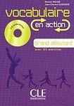 CLE International Vocabulaire EN ACTION A1 a CD a CORRIGES cena od 407 Kč