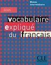 CLE International Vocabulaire expliqué niveau intermédiaire cena od 465 Kč