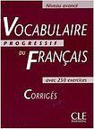CLE International VOCABULAIRE PROGRESSIF DU FRANCAIS: NIVEAU AVANCE - CORRIGES cena od 188 Kč