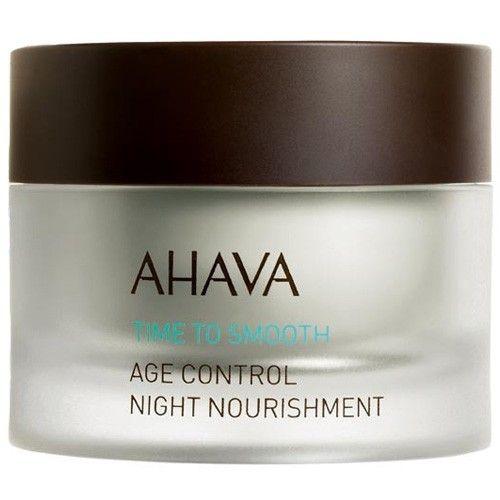 Ahava Omlazující noční krém pro zralou pleť Time to Smooth (Age Control Night Nourishment) 50 ml