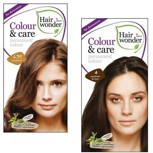 Hairwonder BIO Přírodní dlouhotrvající barva Čokoládově hnědá 5,35