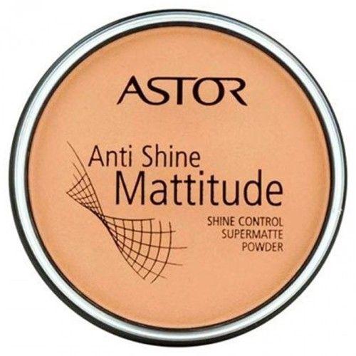 Astor Matující pudr Anti Shine Mattitude (Shine Control Supermatte Powder) 14 g 003 Nude Beige