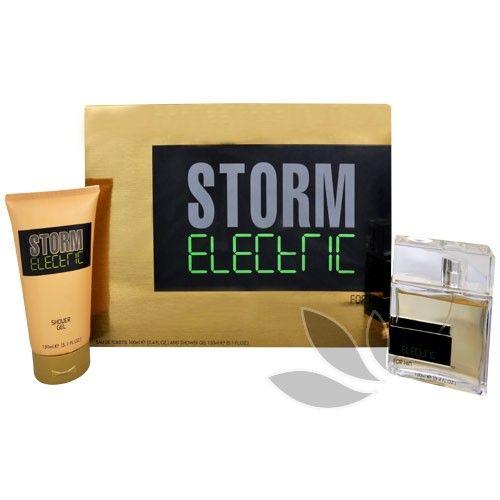 Storm Electric Man - toaletní voda s rozprašovačem 100 ml + sprchový gel 150 ml