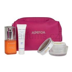 Ainhoa Luxe Gold kosmetická sada pro zralou pleť I. 3 pcs