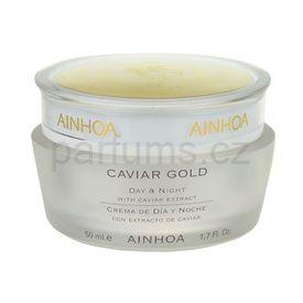Ainhoa Luxe Gold revitalizační krém pro suchou pleť (Day & Night Cream with Caviar Extract) 50 ml