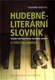 Vladimír Spousta: Hudebně-literární slovník II. cena od 351 Kč