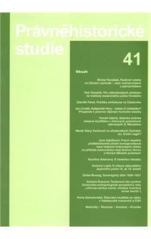 Ladislav Soukup: Právněhistorické studie 41 cena od 374 Kč
