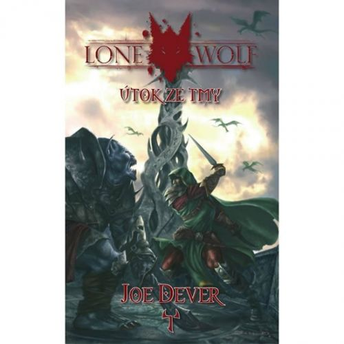 Joe Dever: Lone Wolf 1 - Útok ze tmy (gamebook) cena od 168 Kč