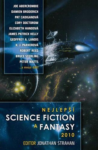 Jonathan Strahan: Nejlepší science fiction a fantasy 2010 cena od 319 Kč