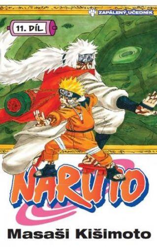 Kišimato Masaši: Naruto 11 - Zapálený učedník cena od 126 Kč